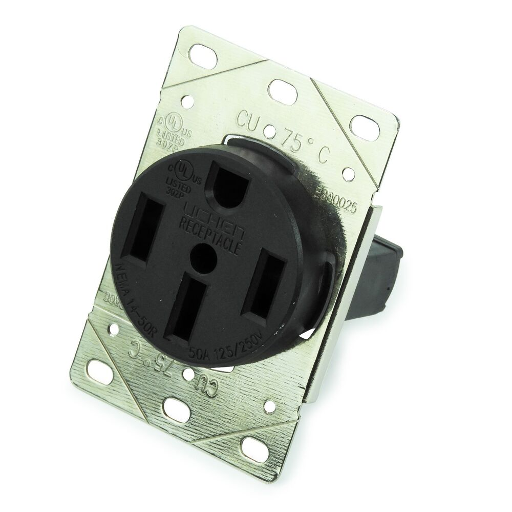 50 Amp Receptacle >> 50 Amp Receptacle With Bracket For Rv Camper Motorhome 5th