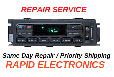 FORD CROWN VICTORIA 1995 - 2011 REPAIR SERVICE AC HEATER CLIMATE CONTROL HVAC