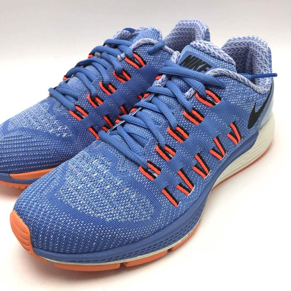 detailed look 0a9f0 bdc50 Details about Nike Air Zoom Odyssey Women s Running Shoes Chalk  Blue Black-Orange 749339-400