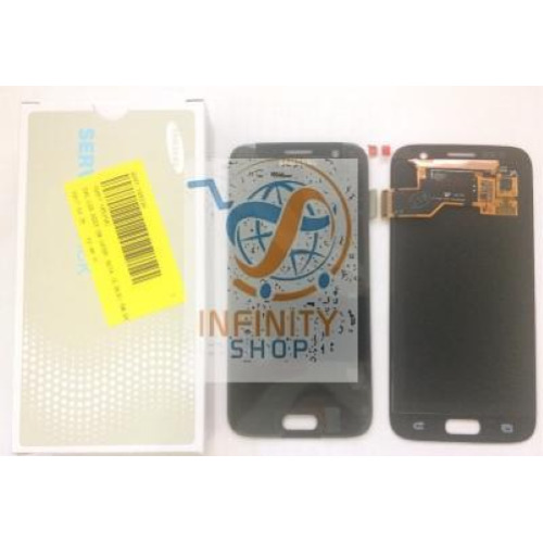 DISPLAY LCD + TOUCH SCREEN ORIGINALE SAMSUNG GALAXY S7 G930F NERO SM-G930F + KIT