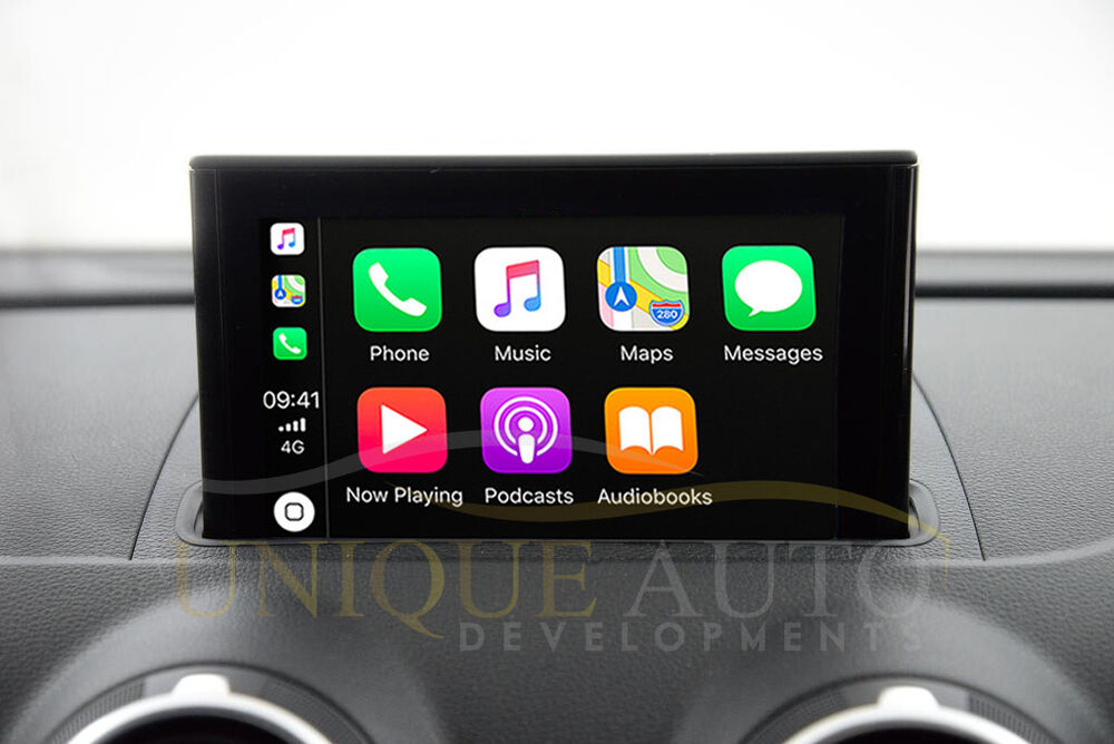 apple carplay navigation mirroring audi a3 carplay 8v 2013 17 gps mmi ebay. Black Bedroom Furniture Sets. Home Design Ideas