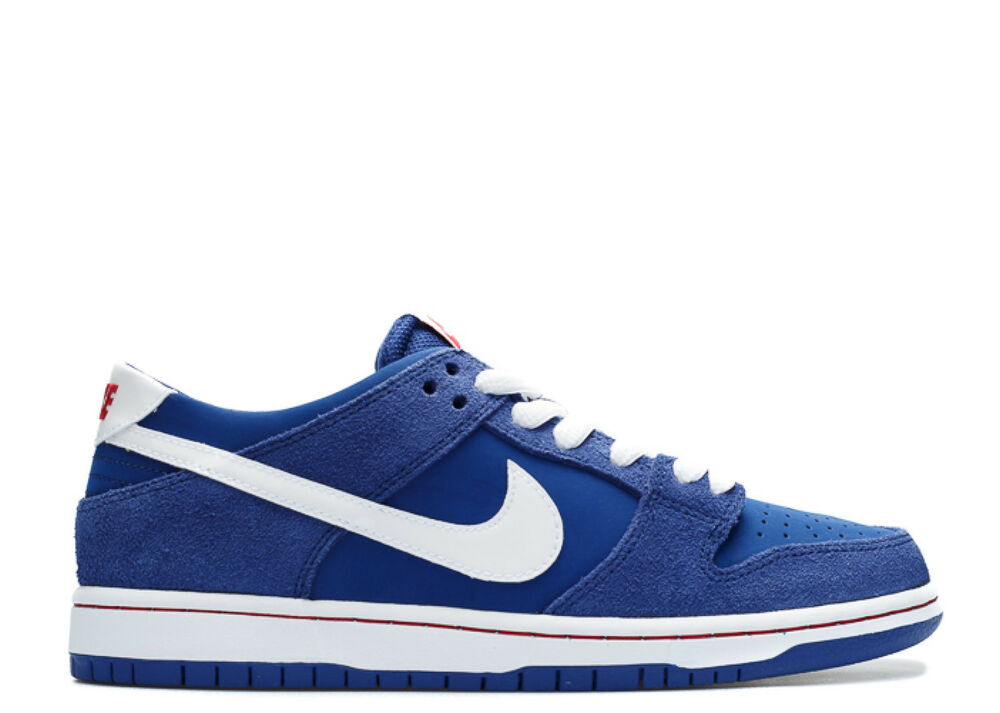 newest 39f56 b55e0 Nike DUNK LOW PRO IW Deep Royal White Gym Red Discounted (587) Men s Shoes    eBay