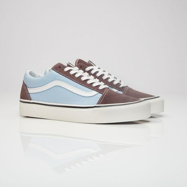 a3b1f1c656 Details about Vans Old Skool 36 DX Anaheim Factory (Brown Light Blue)  VA38G2MWO NEW Limited