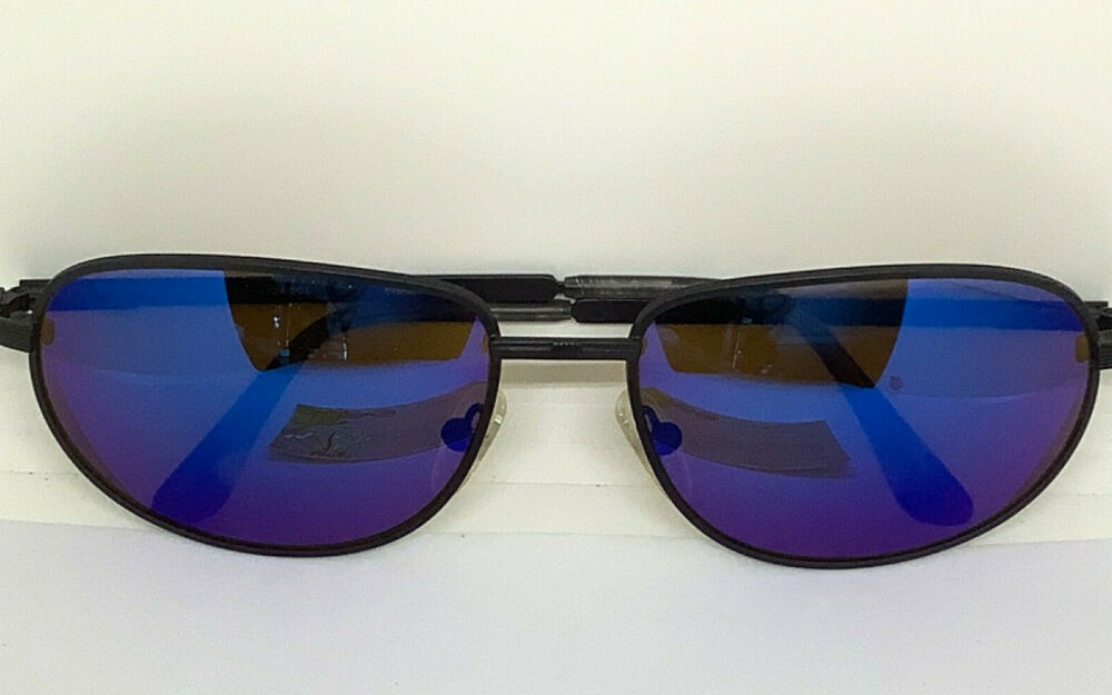 Details about RARE VINTAGE REVO 1124/001 EXECUTIVE BLUE MIRROR PRISTINE  SUNGLASS AMAZING!