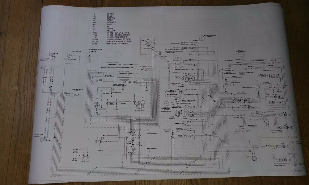 details about wiring diagram cushman police scooter japanese mini micro  truck 327 daihatsu