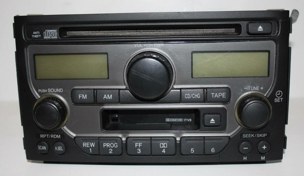 20032005 Honda Pilot Radio Cassette Cd Player 39100s9va120 Ebayrhebay: Honda Pilot Radio At Gmaili.net
