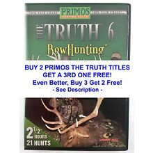 PRIMOS THE TRUTH 6 BOWHUNTING Elk Whitetail Dear Bear Hunting DVD Video