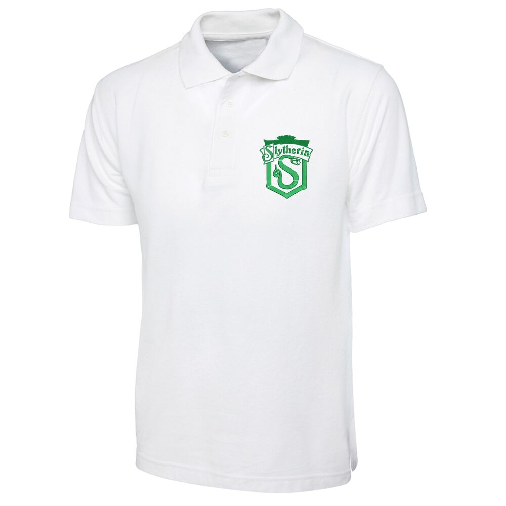 Slytherin Logo Polo Shirt Slytherin Snake Slytherin Crest