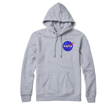 img-Nasa Logo Hoodie, Nasa Space Science Astronaut Embroidered Hoodie Top