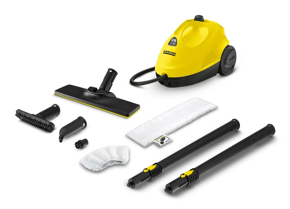 karcher sc 2 easy fix steam cleaner with full accessory. Black Bedroom Furniture Sets. Home Design Ideas