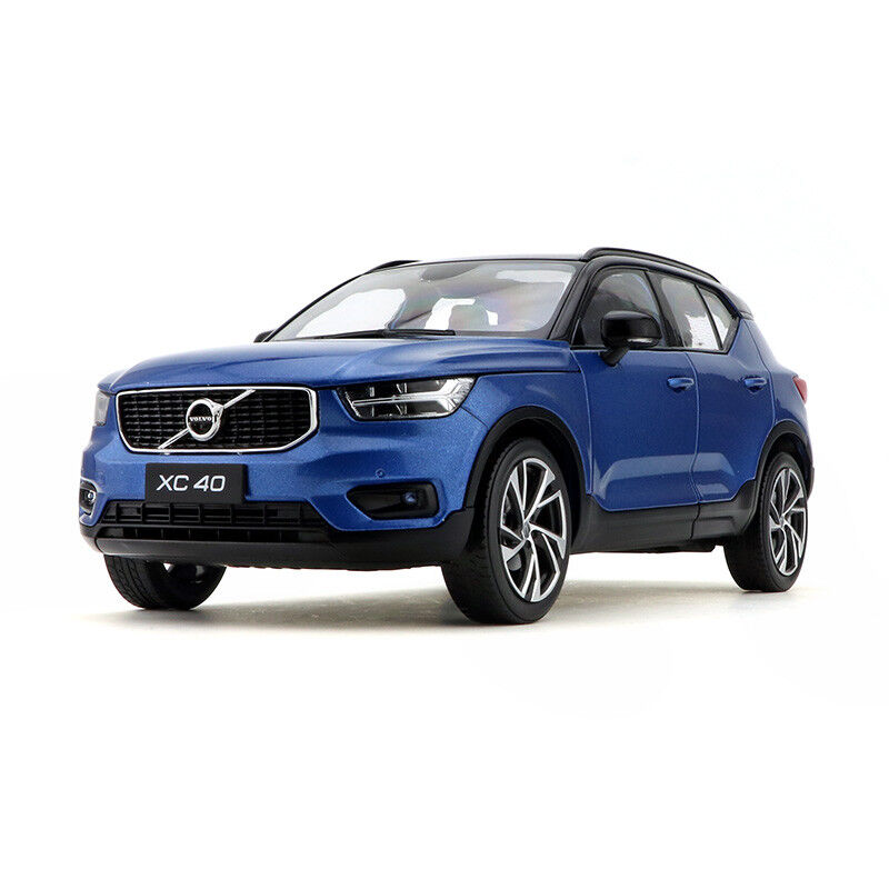 ORIGINAL MODEL 1:18 VOLVO XC40 ,BLUE,New Car Of 2018,MINI