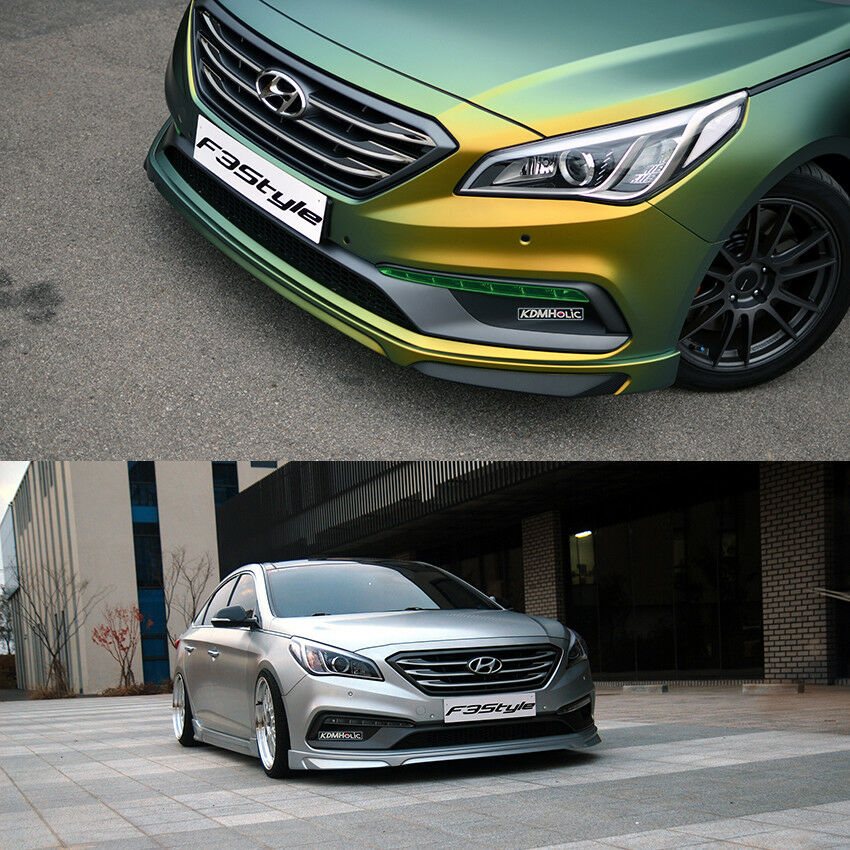 Details About F3style Front Lip For Hyundai Sonata Lf 15 17 Turbo Models