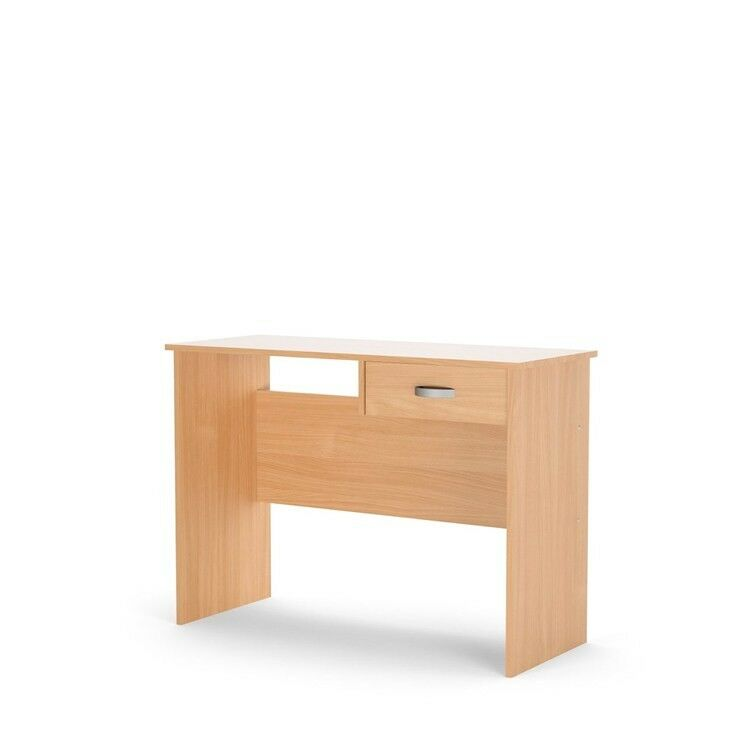 Details About Desk 1 Hanging Drawer Compact Computer Laptop Workstation Home Office Cherry