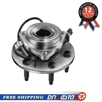 New Front Wheel Hub & Bearing for Chevy GMC Truck 4X4 4WD ONLY AWD w/ ABS