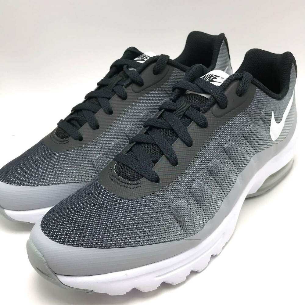 online retailer 9438c 6808e Details about Nike Air Max Invigor Print Men s Running Shoes Black White-Wolf  Grey 749688-001