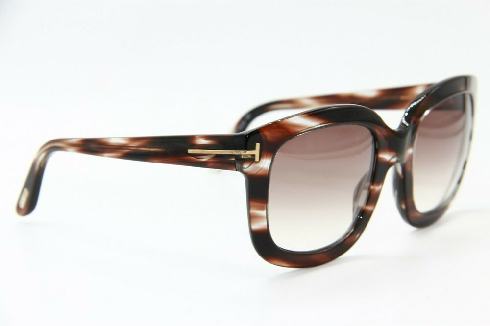 5dc8925d6f4a Details about NEW TOM FORD TF 279 49F CHRISTOPHE BROWN SUNGLASSES AUTHENTIC  53-23 W CASE !