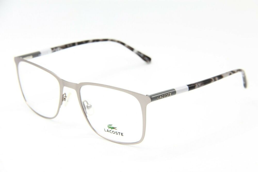 02f90a07cd Details about NEW LACOSTE L 2219 033 GREY EYEGLASSES AUTHENTIC RX FRAME  L2219 53-20