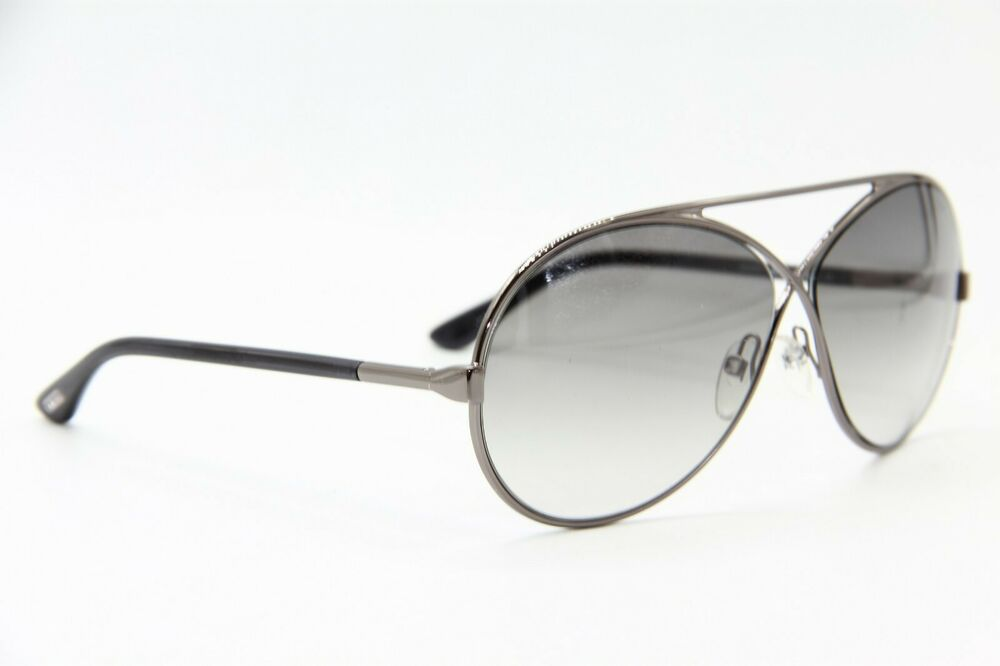 92a774753e Details about NEW TOM FORD TF 154 36J GEORGETTE SILVER SUNGLASSES AUTHENTIC  TF154 64-11 W CASE