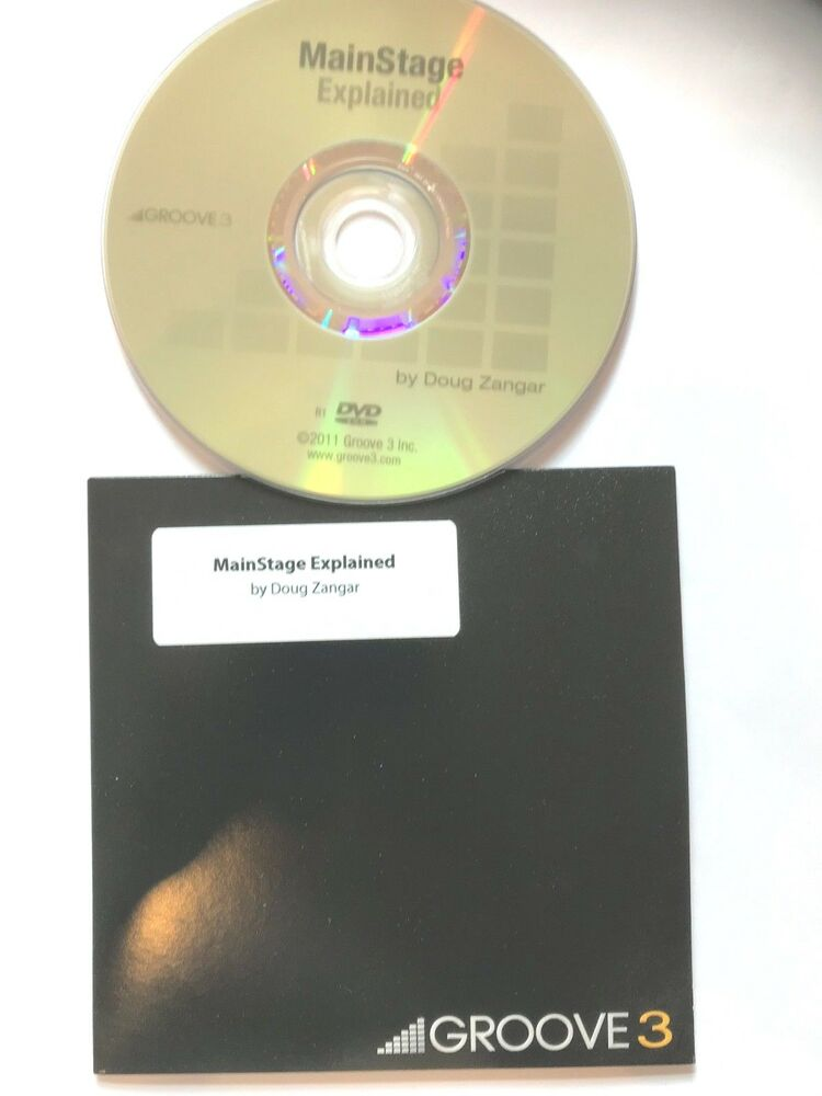 Apple MainStage explained pro dvds video dvd help tutorial training lesson  5 2hr | eBay