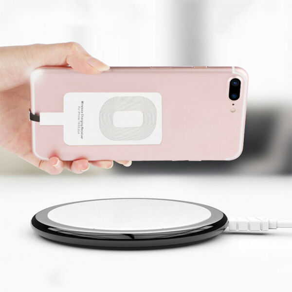 Qi Wireless Charger Adapter Charging Receiver For Samsung iPhone 6s 7 Plus