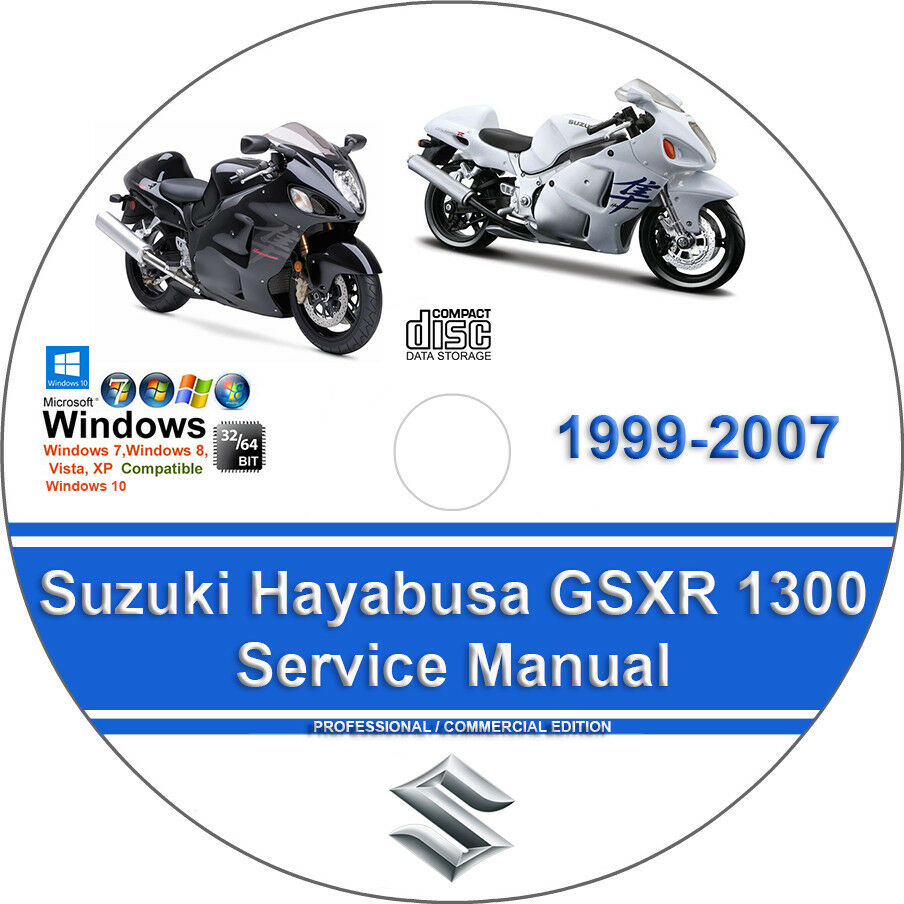 Suzuki Hayabusa GSXR 1300 1999-2007 Factory Workshop Service Repair Manual  | eBay