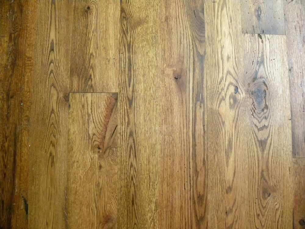 Details About Antique Reclaimed Oak Hardwood Flooring Real Wood 100 200 Years Old 3 6