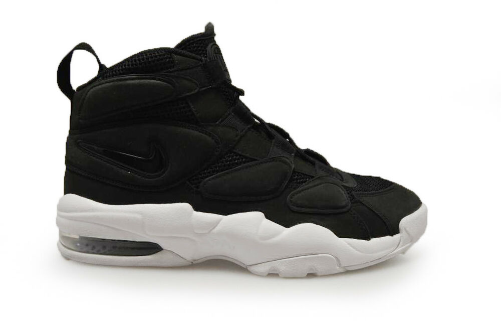 finest selection 58562 41af6 Details about Mens Nike Air Max 2 Uptempo QS - 919831001 - Black White  Trainers