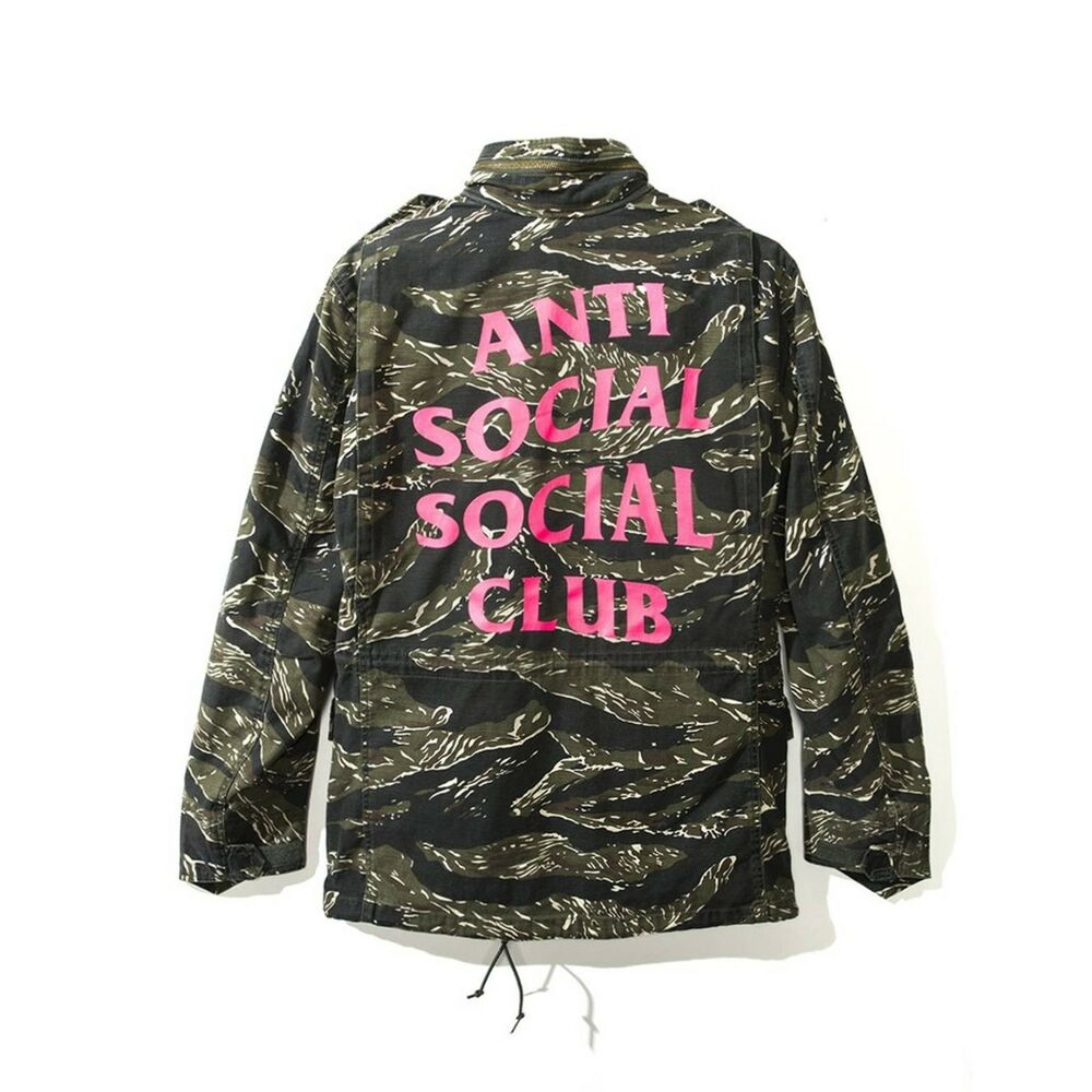 166ef4581a24 Details about BRAND NEW AUTHENTIC ANTI SOCIAL CLUB ASSC SS18 ALPHA TIGER  JACKET SIZE MEDIUM