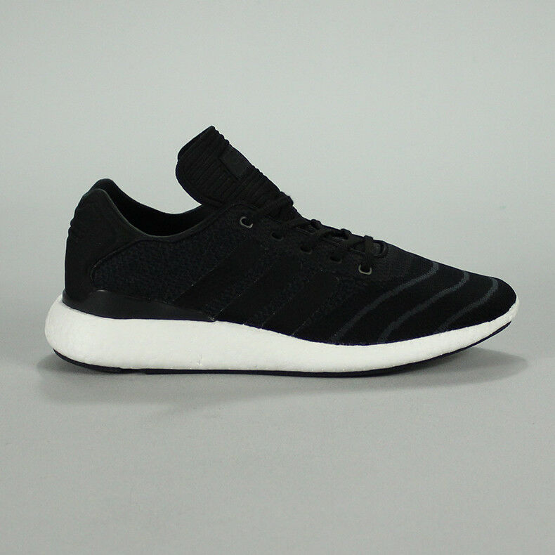 pretty nice def3c 1d241 Adidas Busenitz Pure Boost Skate Trainers Shoes in Black UK Size 9,10