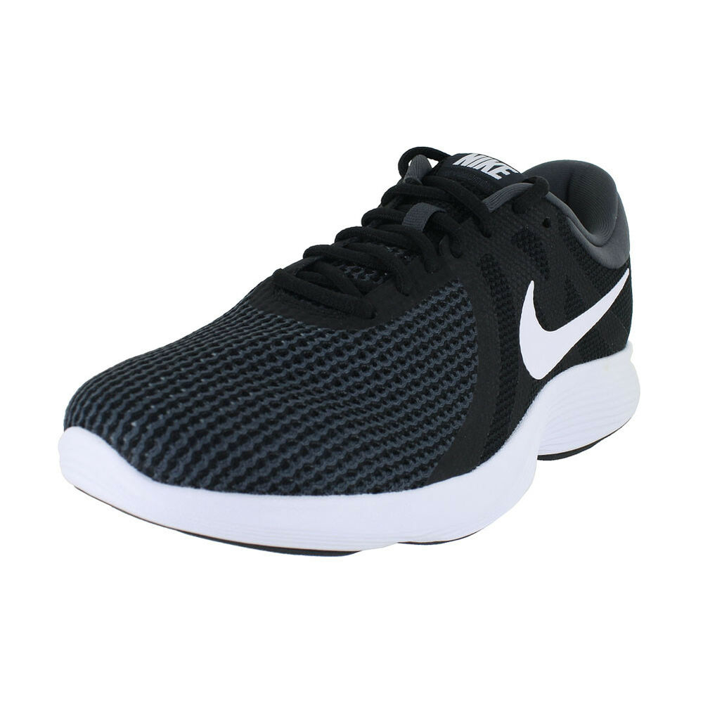 9ee64b2446d Details about NIKE REVOLUTION 4 4E WIDE BLACK WHITE ANTHRACITE AA7402-001  MENS US SIZES