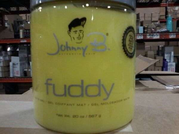 Johnny B Fuddy Matte Styling Gel 20 oz - Special Size BRAND NEW AND NEW STOCK