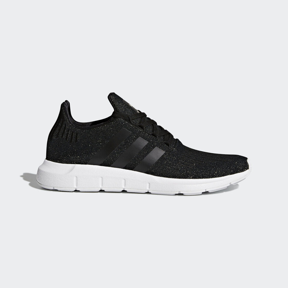 749fa11032b721 Details about Adidas Originals Swift Run W  CQ2018  Women Casual Shoes  Black White
