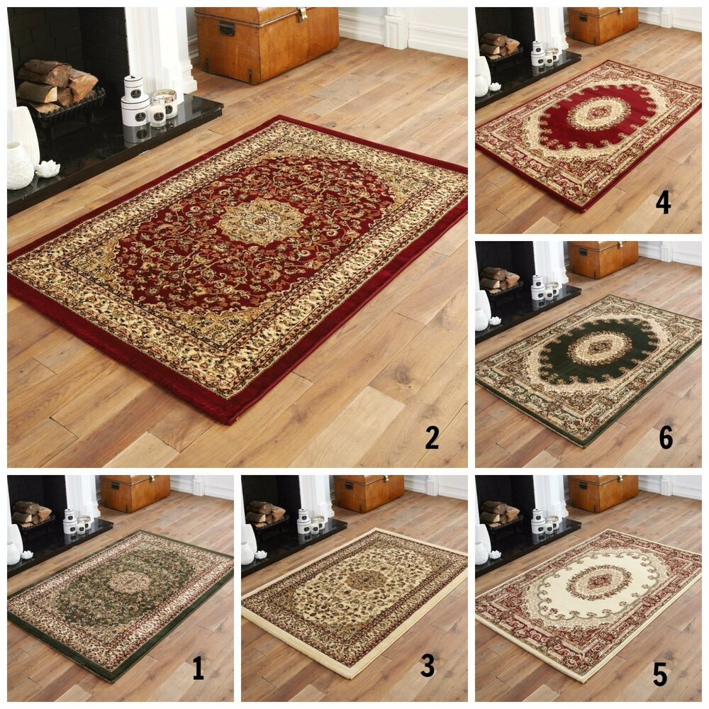 Cheap Green Rugs: BEST DISCOUNT TRADITIONAL ELEGANT CLASSIC RED GREEN BEIGE