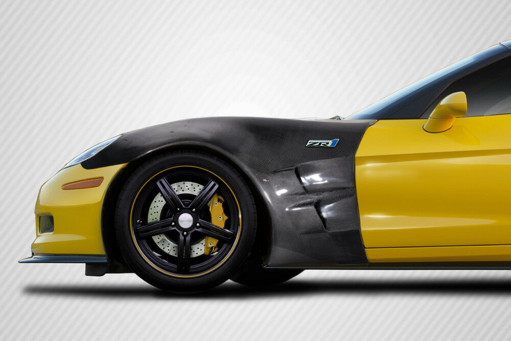 Chevrolet Corvette C6 05 13 Carbon Creations Carbon Fiber Zr1 Look