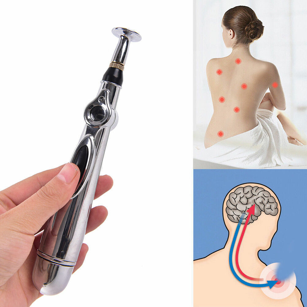 Meridian Electronic Acupuncture Energy Pen Laser Pulse