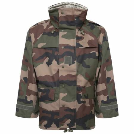 img-French Army CCE Camo MVP Gore-Tex Waterproof Breathable Jacket Military Surplus