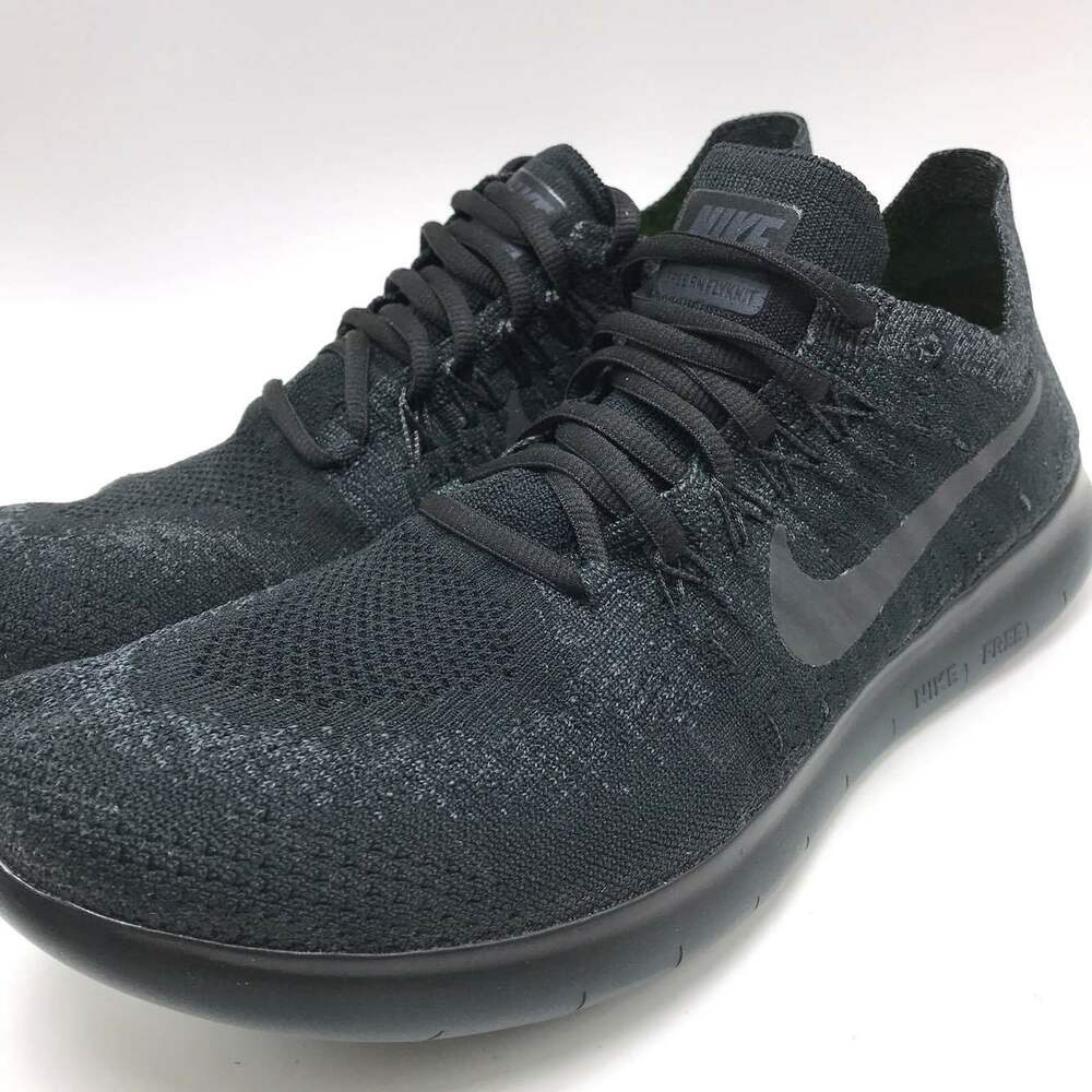 lowest price 27445 55633 Details about Nike FREE RN FLYKNIT 2017 Men s Running Black Anthracite- Anthracite 880843-010