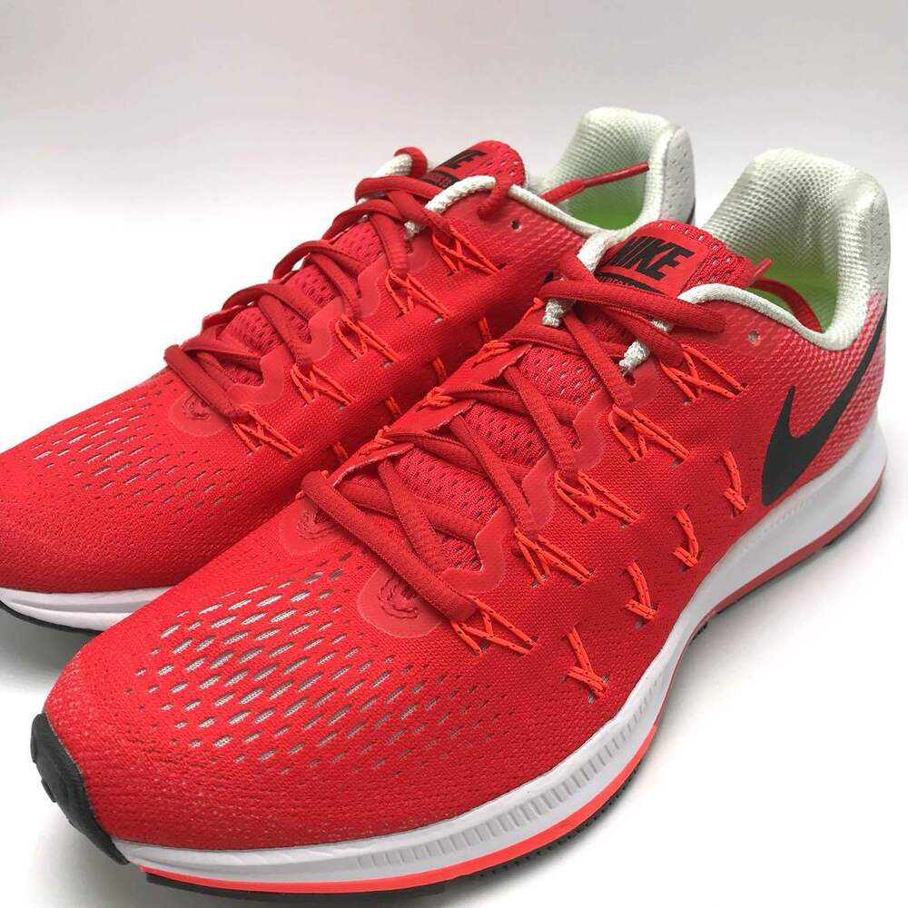 promo code 58c4f 42fdc Details about Nike Air Zoom Pegasus 33 Men's Running Shoes Red/Black-Crimson  831352-600