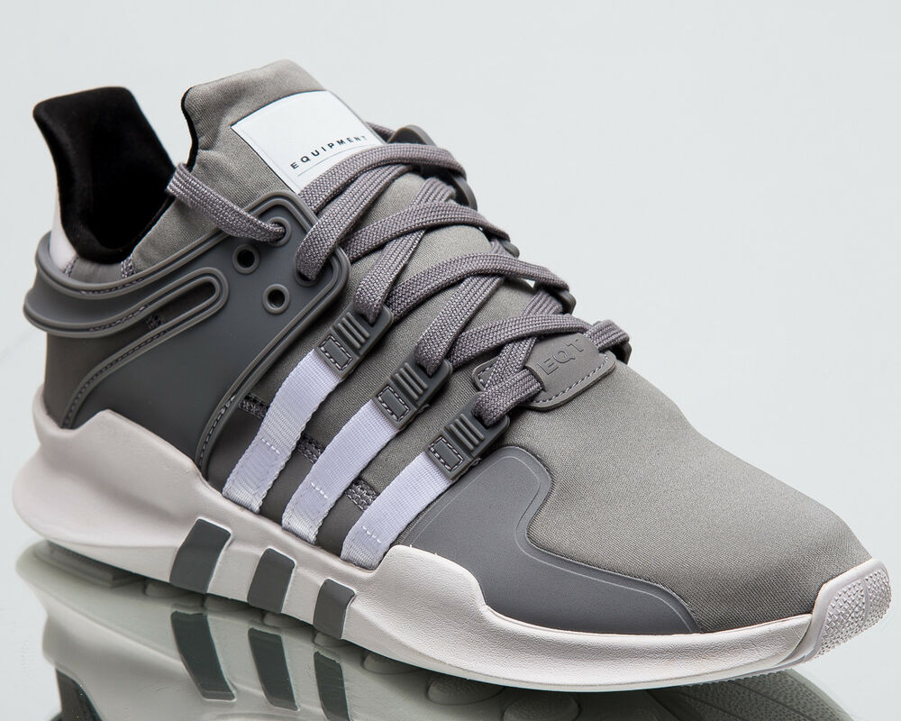 detailed look a63db 812e1 Details about adidas Originals EQT Support ADV Men New Sneaker Grey White Black  Shoes B37355
