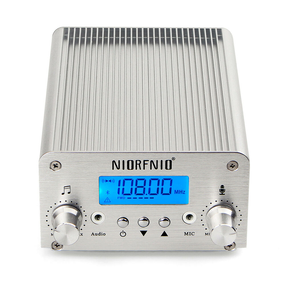 New Wireless 15w Pll Fm Transmitter Radio Stereo Station Bluetooth Bh1417 Broadcast Ca Ebay