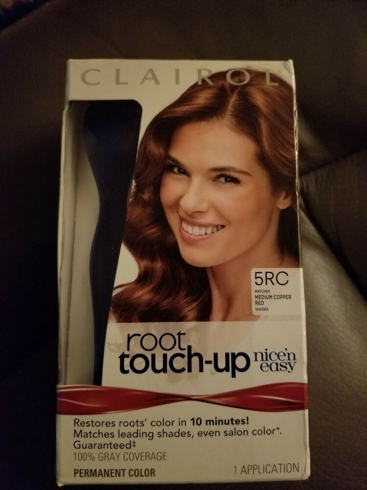 1 Clairol Root Touch Up Nice N Easy 5rc Medium Copper Red