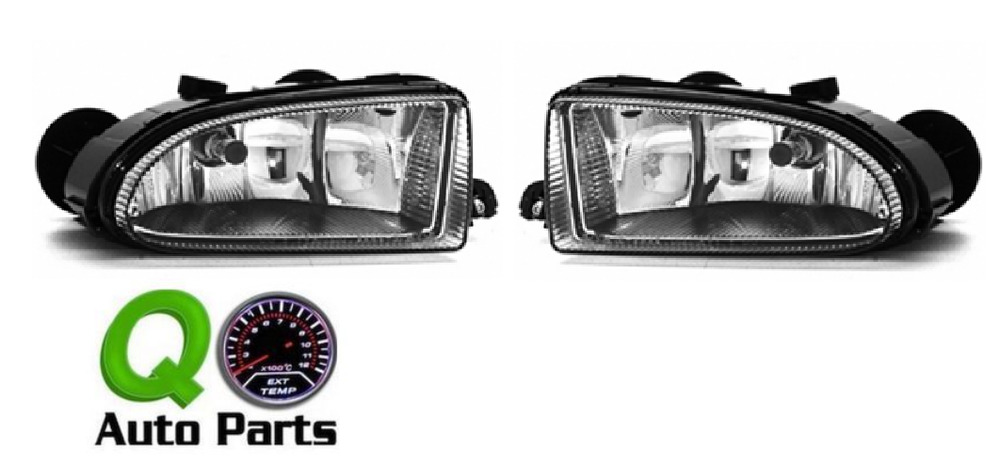 Details About New Pair Set Fog Light Lamp Housing Embly Sae 01 05 Chrysler Pt Cruiser