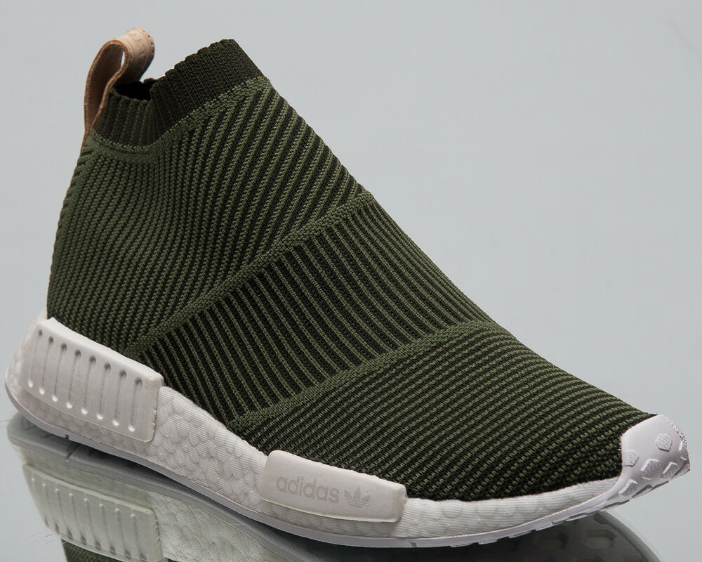 bc258c1fa4f6 Details about adidas Originals NMD CS1 Primeknit Night Cargo Men New Boost  Sneakers B37638