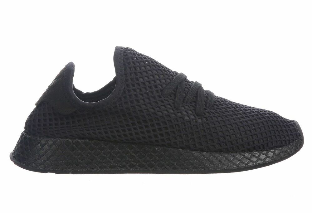 official photos 3ab00 12262 Details about (B41768) ADIDAS MENS DEERUPT RUNNER BLACKWHITE NEW