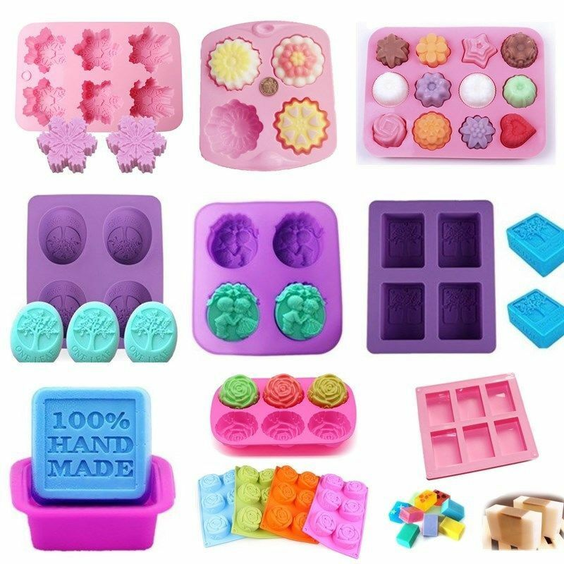 42 Best Dck Chocolate Molds Images On Pinterest: Silicone Soap Mold Cake Candy Chocolate Cookies Baking