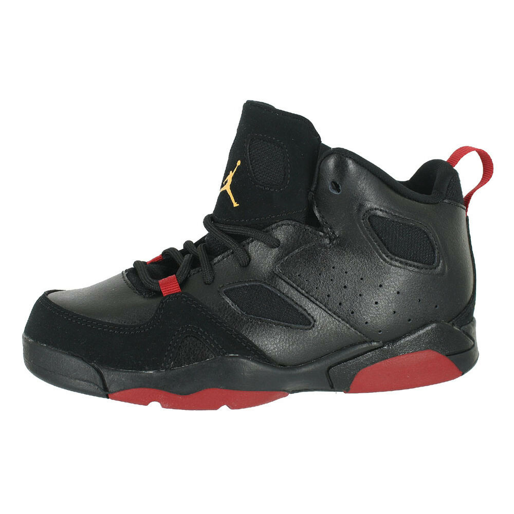 save off adc0e ea040 Details about JORDAN FLIGHT CLUB 91 (PS) BLACK DANDELION RED 555470 067  KIDS US SIZES