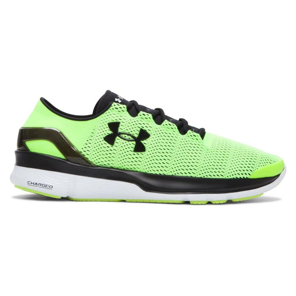 new styles 28be1 fed72 Details about Under Armour Mens UA SpeedForm® Apollo 2 Running Shoes FUEL  GREEN Cross Training