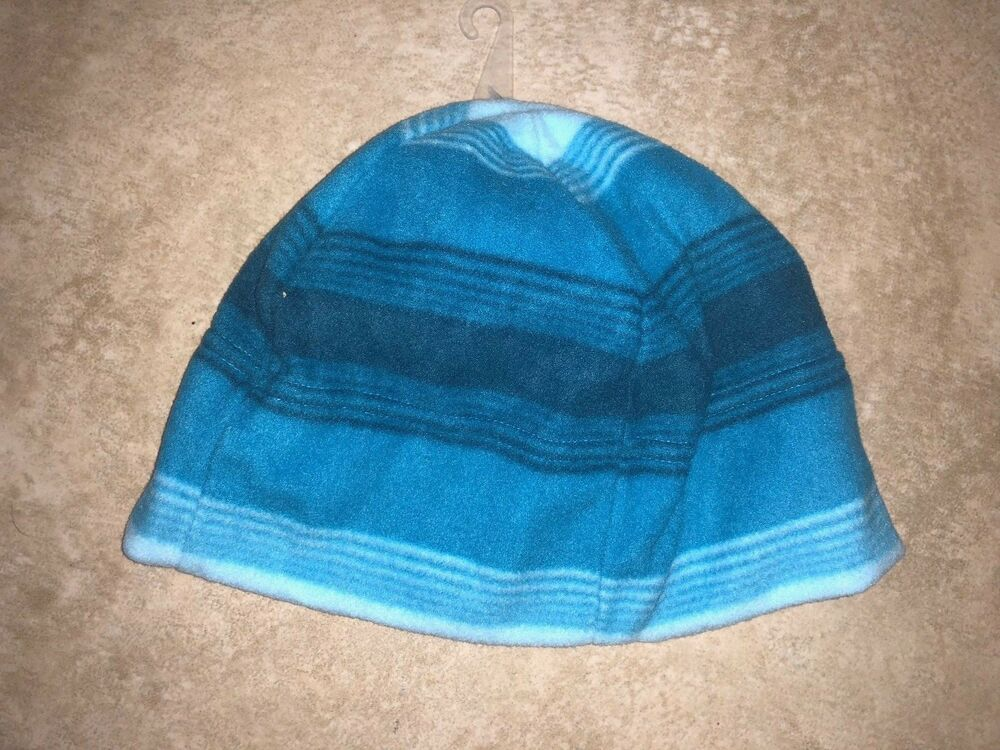 Details about MENS ONE SIZE NEW NWT OLD NAVY BLUE STRIPED FLEECE WINTER CAP  HAT SOFT POLYESTER f2d674d99146