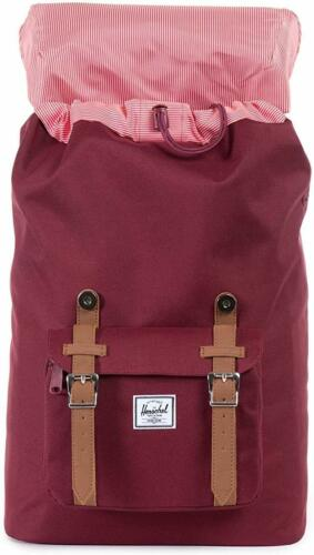 Little America Mid-Volume Backpack, Herschel, Windsor Wine/Tan