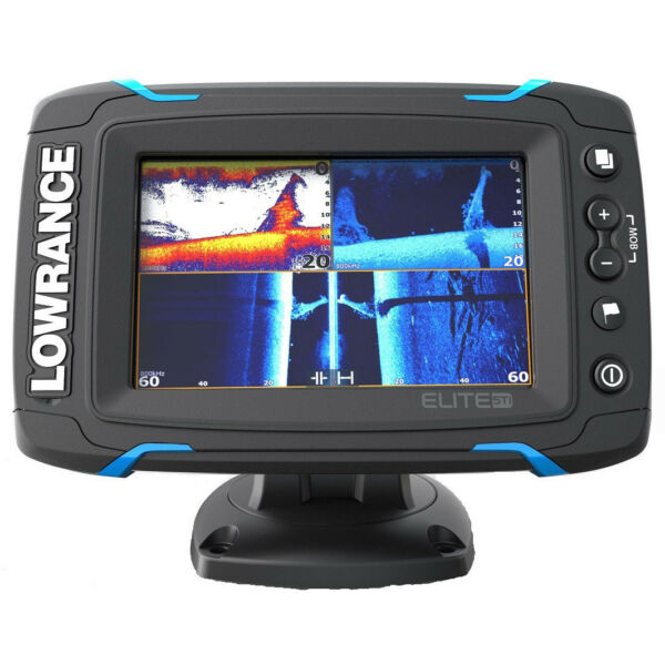 Lowrance Elite-5 Ti Touch Combo with CHIRP Sonar & HDI Transducer  000-12421-001
